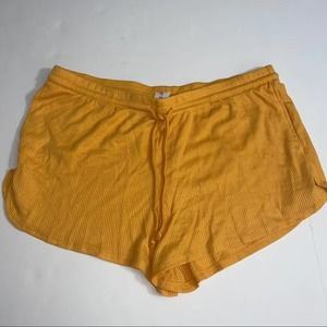 Colsie lounge shorts orange size XL